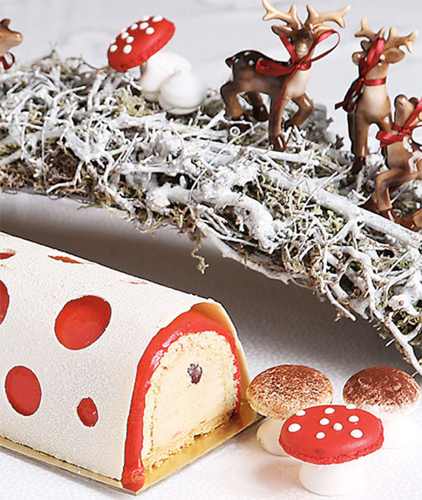 Christmas Flavors.Taste And Flavor Christmas Buches Nazira Catering Featured