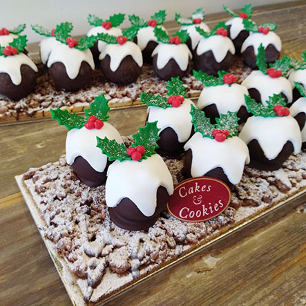 Christmas Flavors.Taste And Flavors Christmas Festive Products Cakes And