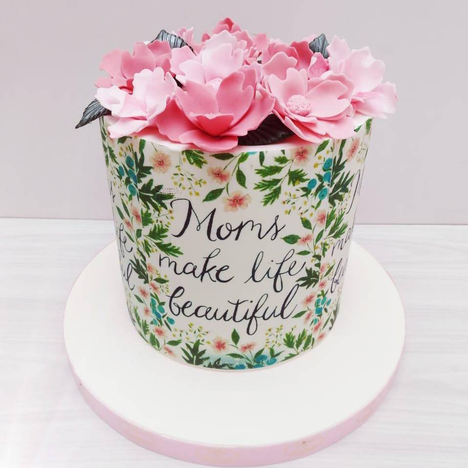 Flowery Cakes For Mother S Day By Cakes Cookies Flowery Cakes On